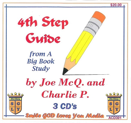 4th Step Guide from a Big Book Study with Joe McQ. & Charlie P. cd