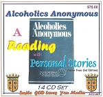 A Reading of the Big Book: Including the Personal Stories   14 CD Set