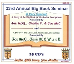 23rd Annual  Big Book Seminar   19 CD Set