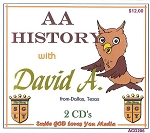 History of Alcoholics Anonymous  with David A.   (2 CD's)