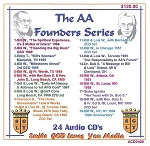 The AA Founders Series    24 CD Set