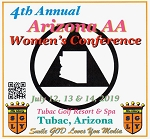 2019 4th Annual Arizona AA Women's Conference -   Flash Drive     Tubac, Arizona