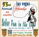 53rd Annual Las Vegas Roundup -Spanish  AA    Complete Weekend   2019