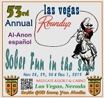 53rd Annual Las Vegas Roundup -Spanish Al-Anon     Complete Weekend   2019