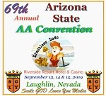 2019 69th Annual Arizona State AA Convention - Complete CD Set