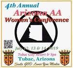 2019 4th Annual Arizona AA Women's Conference -  Tubac, Arizona   CD Set