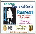 8th Annual 2019 Darralict's Retreat - CD Set