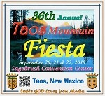 2019 36th Annual Taos Mountain Fiesta Complete CD Set
