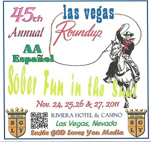 2011 Las Vegas Roundup - Spanish AA Complete CD Set