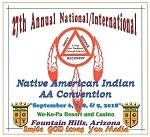 27th Annual National/International Native American Indian AA Convention