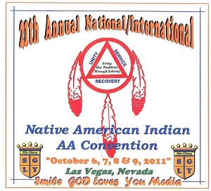 21st Annual National/International Native American Indian AA Convention