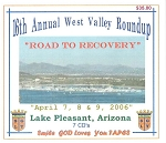2006 West Valley Roundup CD Set