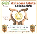 64th Annual Arizona State AA Convention - Complete Set