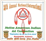 24th Annual National/International Native American Indian AA Conv