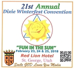 21st Annual Dixie Winterfest Convention Flash Drive
