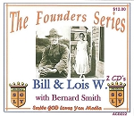 Bill and Lois W. with Bernard Smith