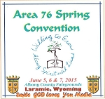 2015 Area 76 Spring Convention complete CD Set
