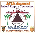 25th Annual Inland Empire AA Convention
