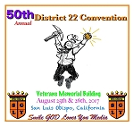 50th Annual District 22 Convention - CD Set