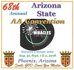 2018 68th Annual Arizona State AA Convention - Complete CD Set
