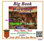 Big Book Workshop with Charlie P., Chad P. & Steven L. From Austin, TX   9 CD Set