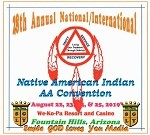 28th Annual National/International Native American Indian AA Convention CD Set
